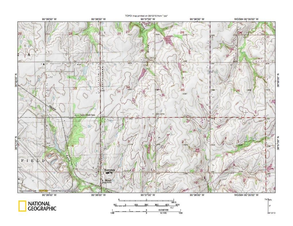 Kansas River-Dragoon Creek drainage divide area landform origins in on columbus river map us, chattahoochee river map us, san joaquin river map us, brazos river map us,