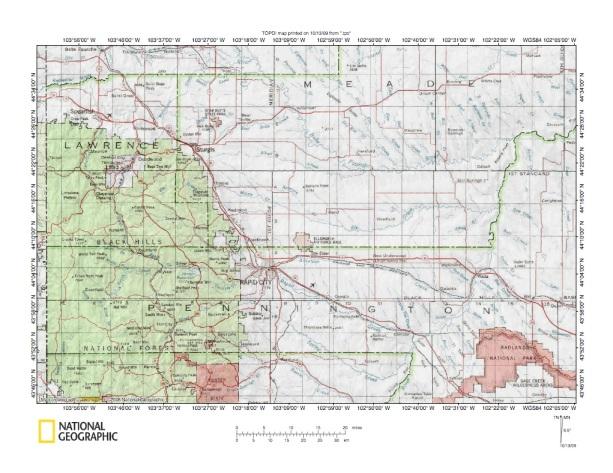 Elk CreekBoxelder Creek Drainage Divide Landform Origins