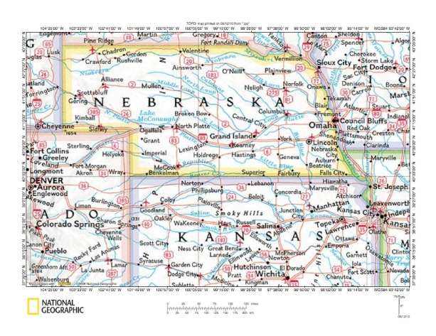 Republican River Drainage Basin Landform Origins Colorado