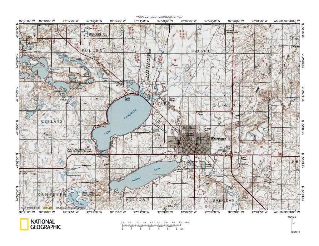 Watertown (SD) United States  city photos gallery : ... landform origins north of Redfield and Watertown, South Dakota, USA