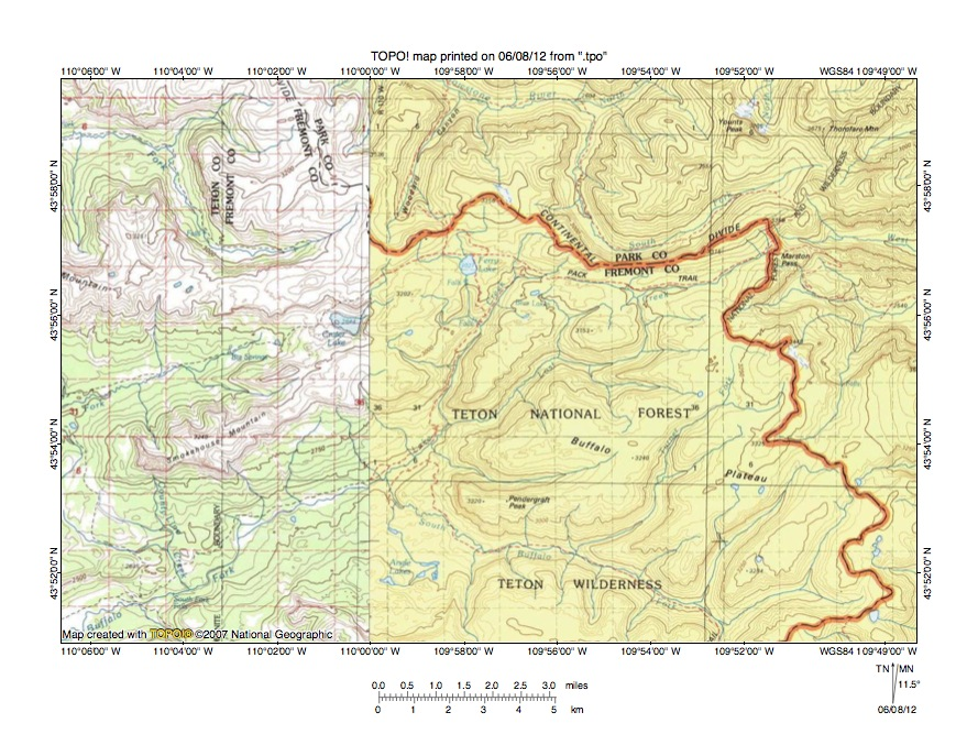 Yellowstone river pacific creek drainage divide area landform figure sciox Image collections
