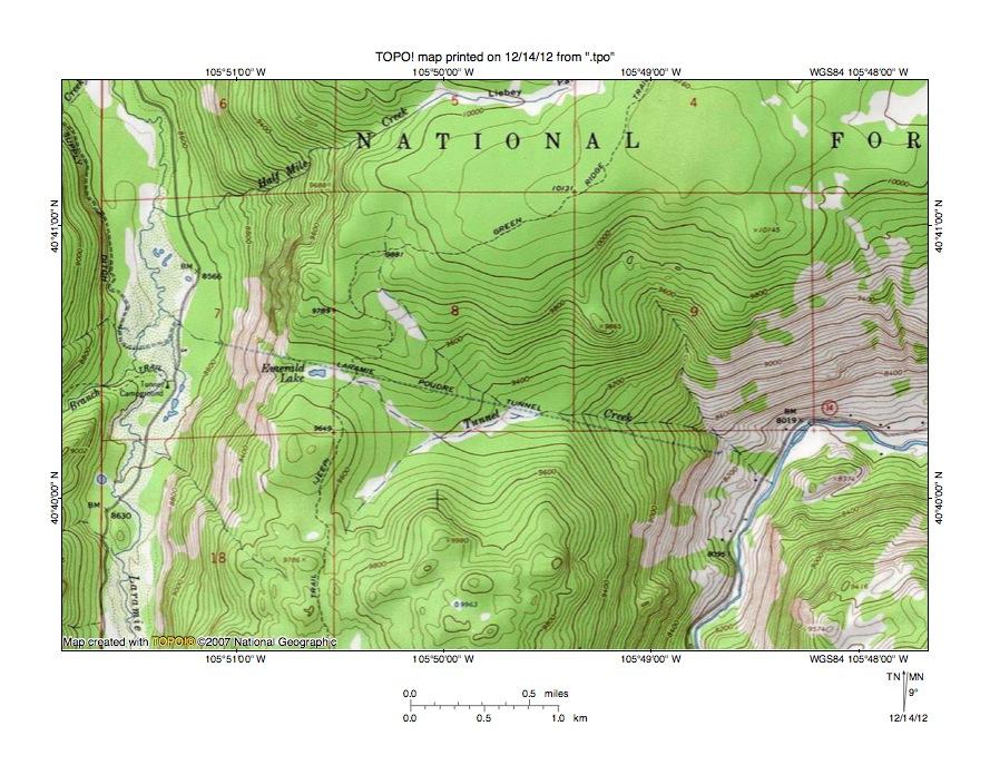 Colorado River Drainage Area
